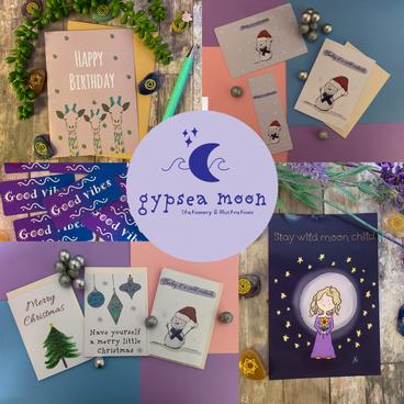 Gypsea Moon Stationery