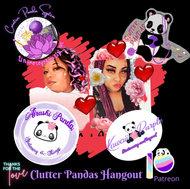 Clutter Pandas Hideout