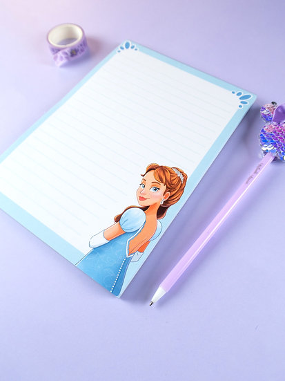 'The Duchess' A5 Lined Notepad with 50 Sheets