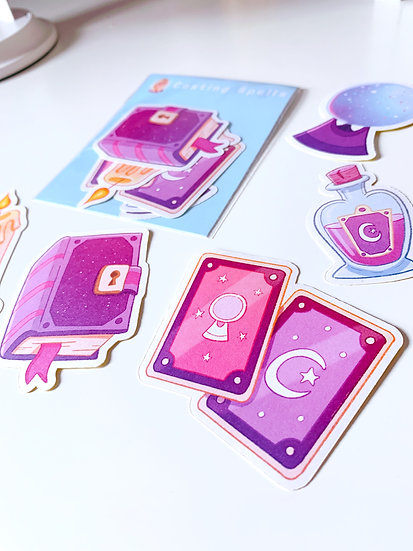 Casting Spells Sticker Pack