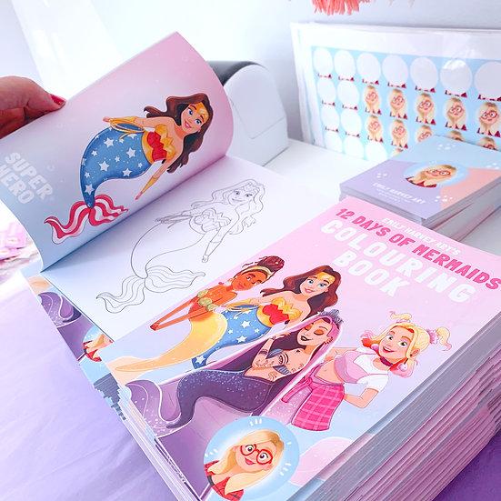 Mermaids Colouring Book