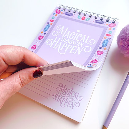 A5 Magical Notebook with 100 Sheets