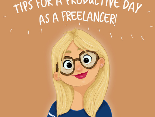 My tips for a productive day as a freelancer...