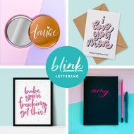 Blink Lettering