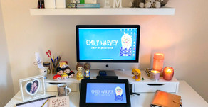 Office Must Haves for a Freelance Illustrator!