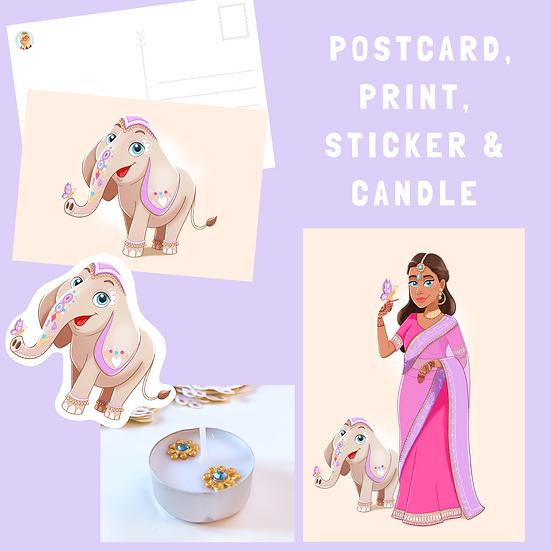 Indian Inspired FULL BOX