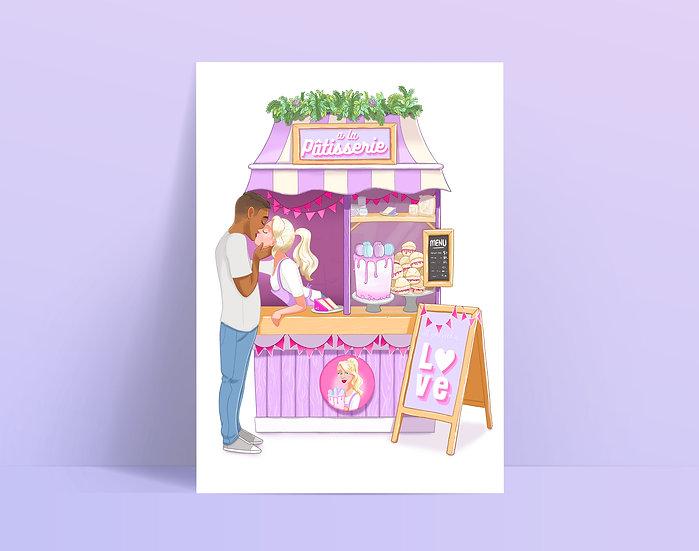 Valentines A5 Print