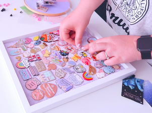 5 Ways to Display your Enamel Pin Collection!