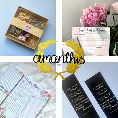 Amanthis Stationery