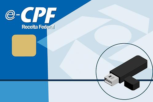 e-CPF A3 + e-token - 2 anos