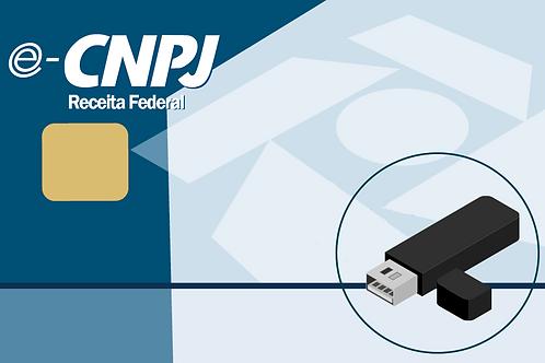 e-CNPJ A3 + e-token - 1 ano