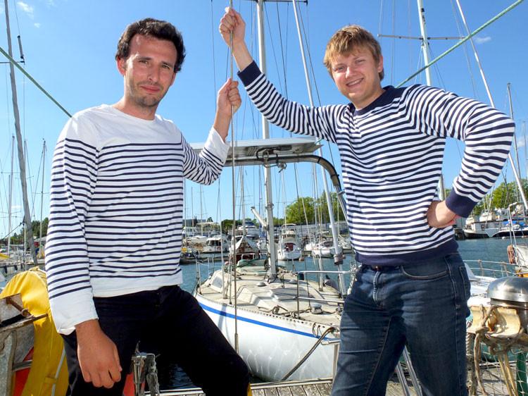 Laurent Calando et Nicolas Cargou fondateur de Samboat