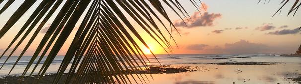 Coucher de soleil à la Barbade