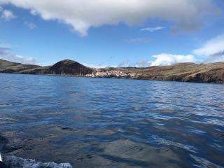 Arrivée sur la seconde ile que nous allons visiter à Madeire