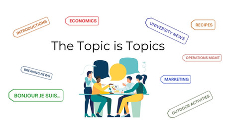 The Topic is Topics