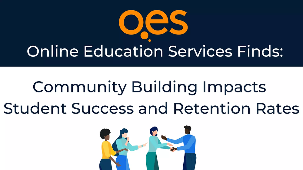 Case Study with OES: Importance of Community Participation in Online Learning