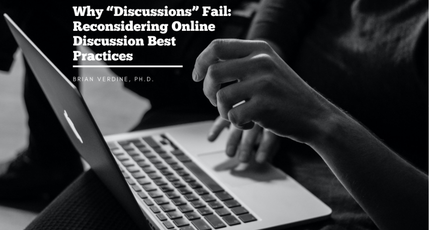 why discussions fail, reconsidering online discussion best practices