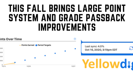 This Fall Brings Large Point System and Grade Passback Improvements
