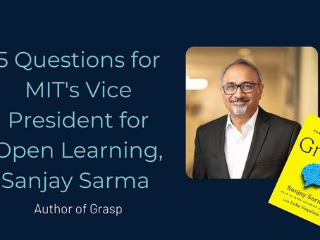 5 Questions for MIT's Vice President for Open Learning, Sanjay Sarma