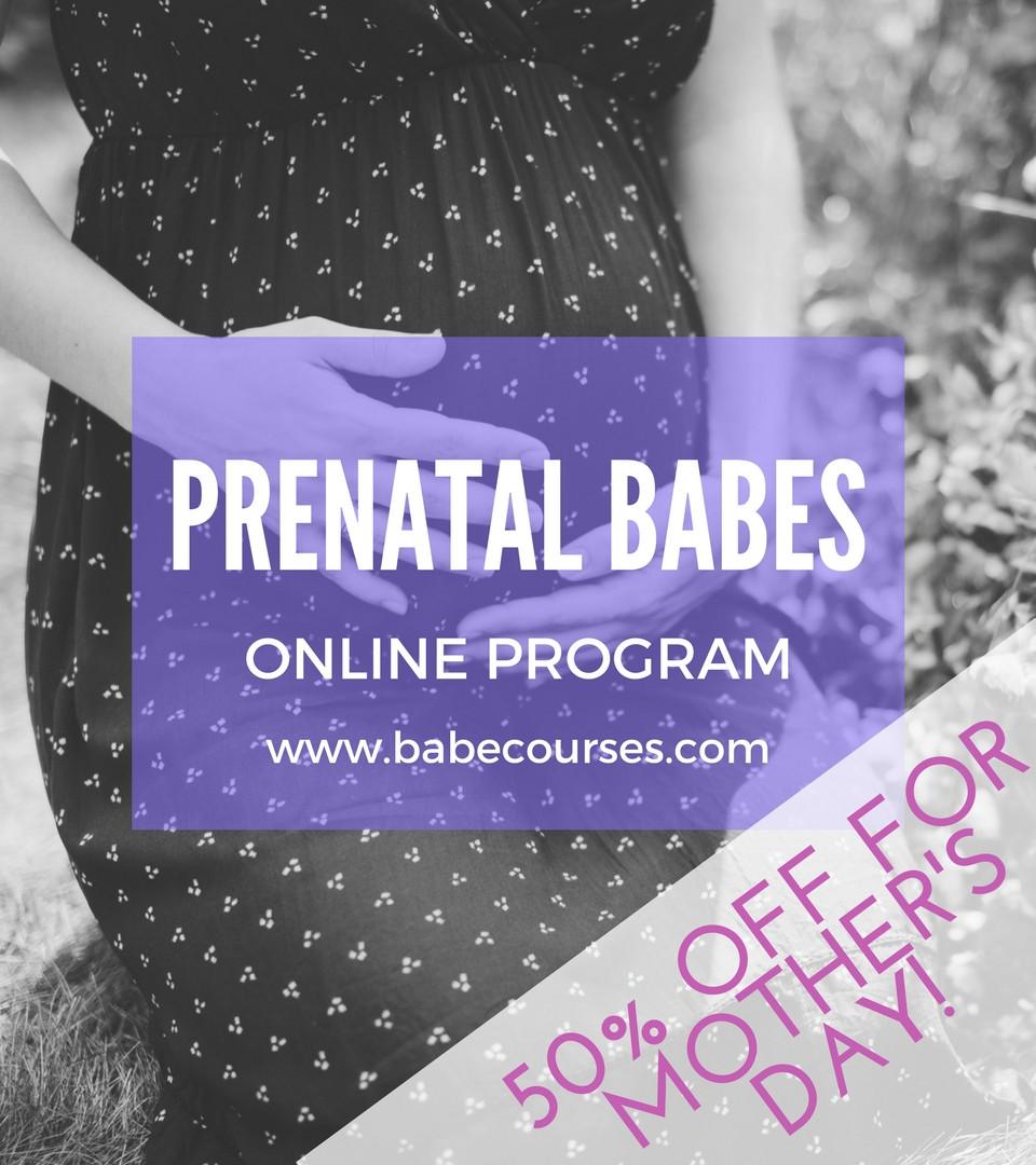 50% Off Prenatal BABEs Program