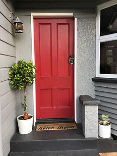 The little red door to our Paddington Studio