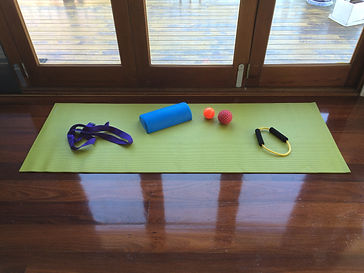 Exercise equipment for a nutritious movement class