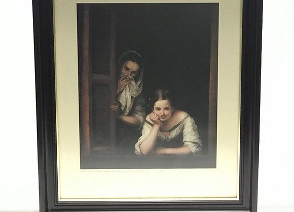 Replica Murillo, Mujeres en la ventana