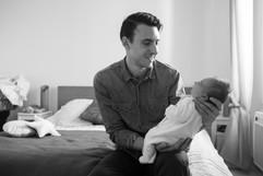 nouveau né, fierté, papa, provence, photographie