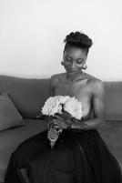 bouquet, portrait, beauté, photographie, marseille