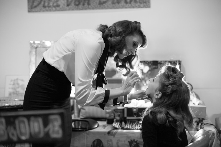 photography photographie vintage salon  make up maquillage pin up