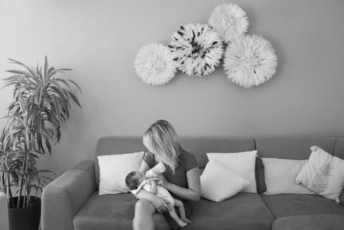 photographie, bébé, naissance, biberon, photographe, nouveau né