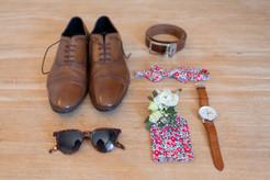 préparatifs, tenue, marié, accessoire