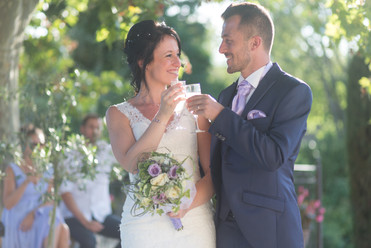 mariage, tchin, champagne, amour, wedding, lovers