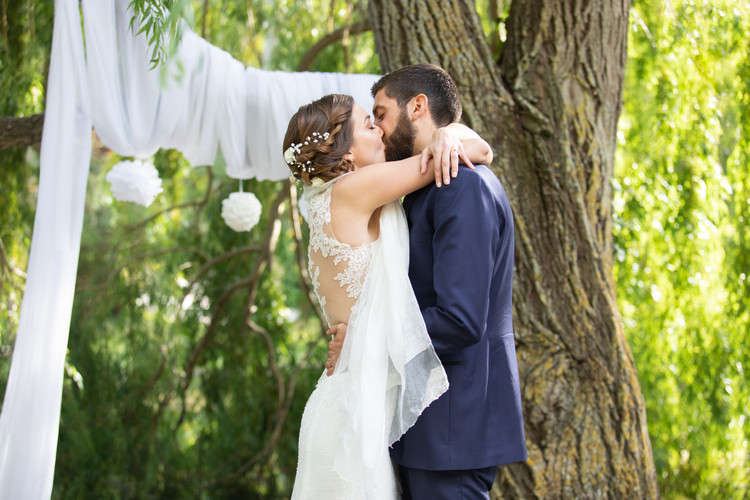 wedding mariage lovers kiss baiser photography photographie