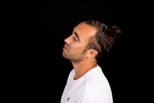 portrait, man, dj üma, studio, photographie