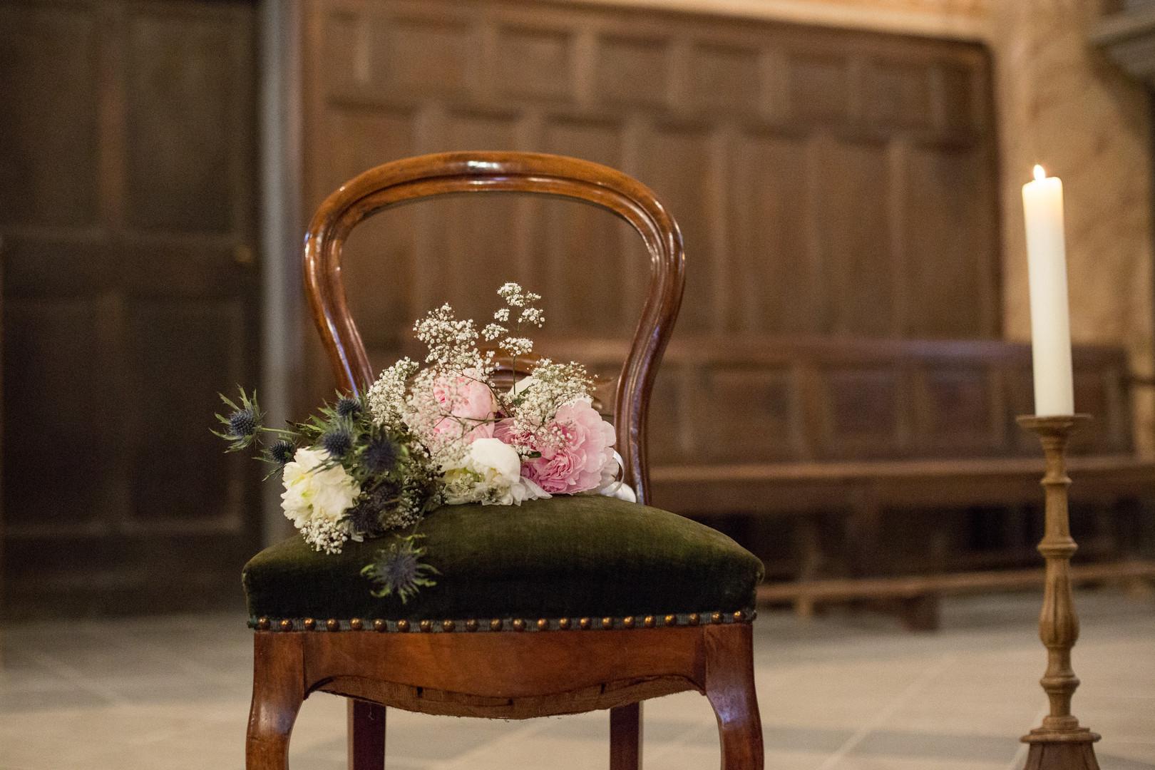 bouquet flowers cérémonie religieuse wedding church photography photographie