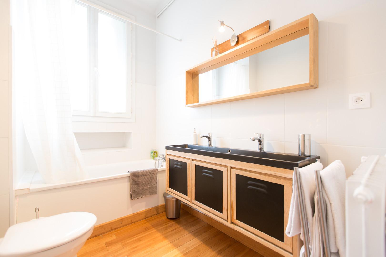 photographie  photography immobilier salle de bain  location  appartement