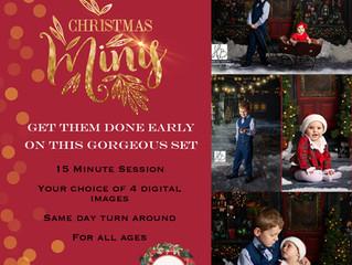 2020 Christmas Mini session details