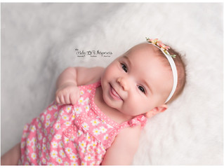 Baby Plan member Ava's 3 month session