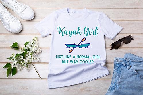 Kayak Girl Short-Sleeve T-Shirt