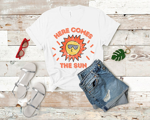 Here Comes the Sun Short-Sleeve T-Shirt - 4 Colors