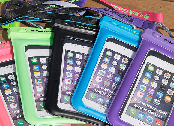 DUKPouch - 100% Waterproof/Floating Cell Phone Pouch