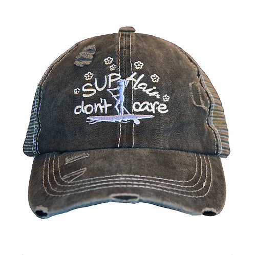 """SUP Hair Don't Care"" Women's Cap"