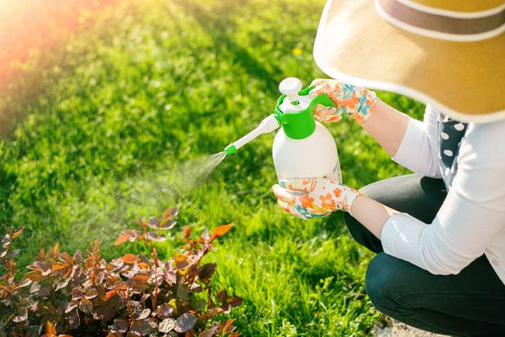 Chemicals while gardening