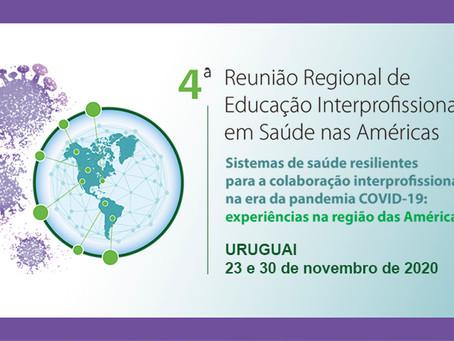 4ª Reunião Técnica Regional de Educação Interprofissional das Américas