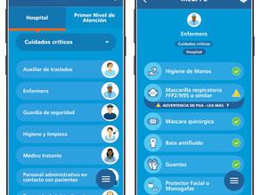 "Aplicativo medPPE ""Equipo Médico de Protección Personal"""