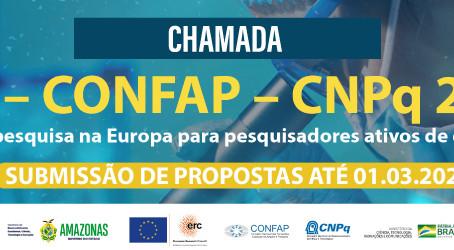 Oportunidades de pesquisa na Europa para pesquisadores ativos de doutorado do Brasil.