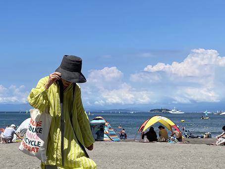 夏休みスタート/恒例の葉山の海へ