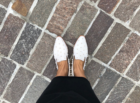 TOFF&LOADSTONEと白い靴