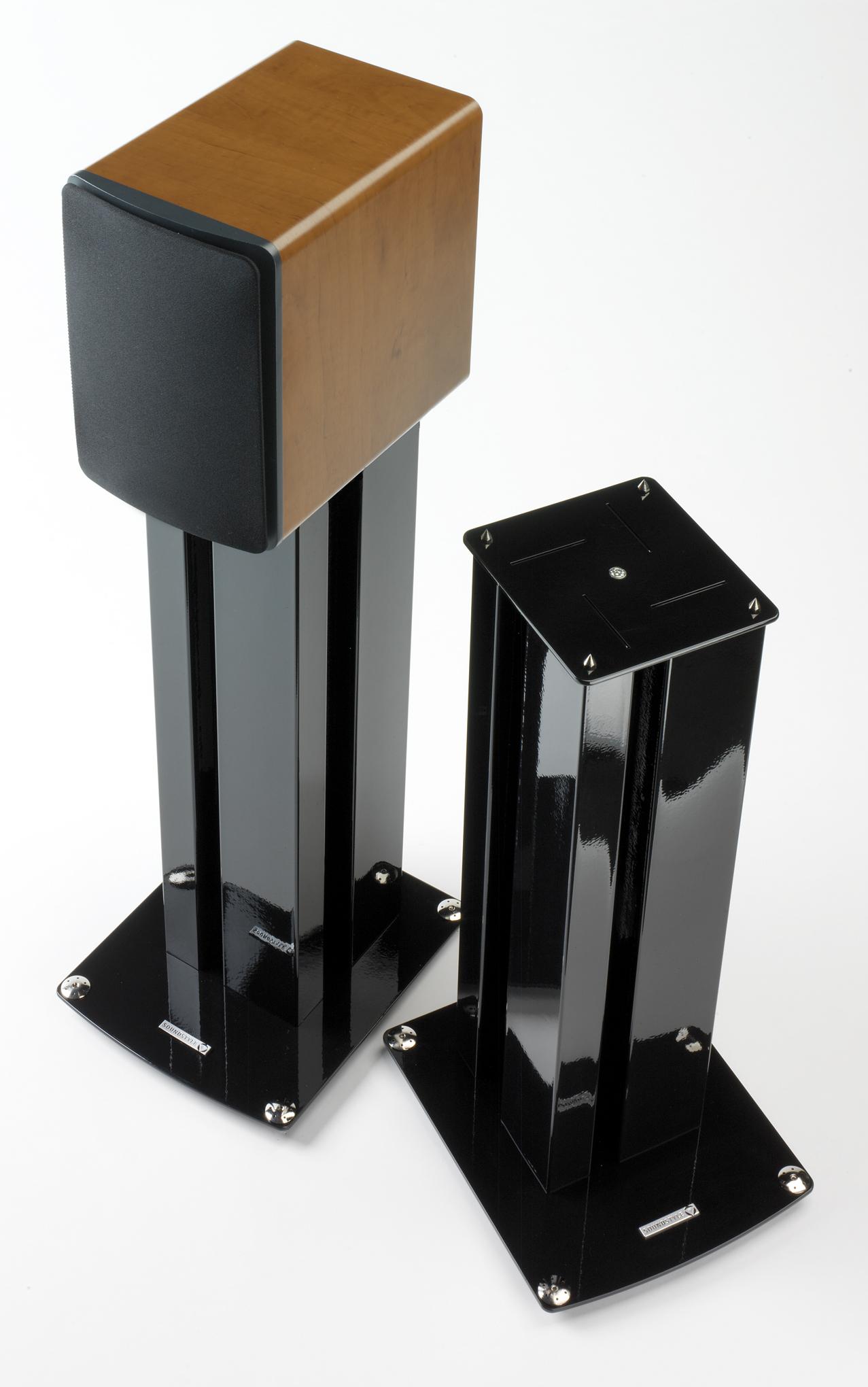 Sound Style Z1 Speaker Stands - Black - 02.jpg